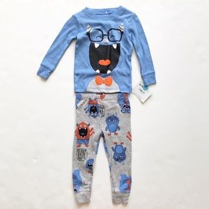 Child of mine NWT Monster Pajamas 6-9 months
